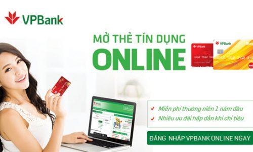 Cách mở thẻ tín dụng VP Bank Online; 20 phút đăng ký, nhận thẻ TẬN TAY sau 48h