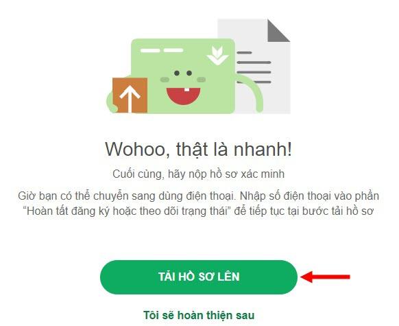 Tải hồ sơ mở thẻ VP Bank Online