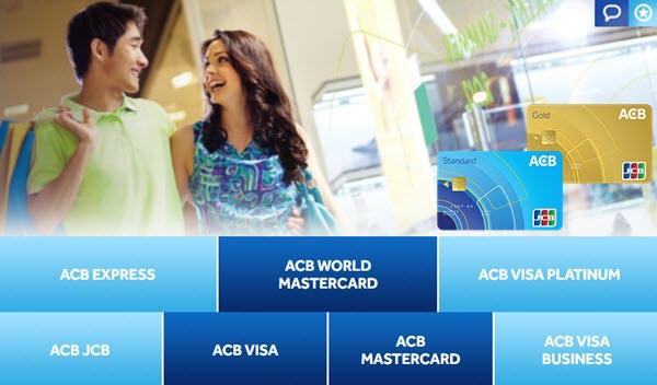 Ưu đãi mở thẻ tín dụng ACB, lương chỉ từ 7 triệu; liên hệ Ms Quỳnh 0947.597.258