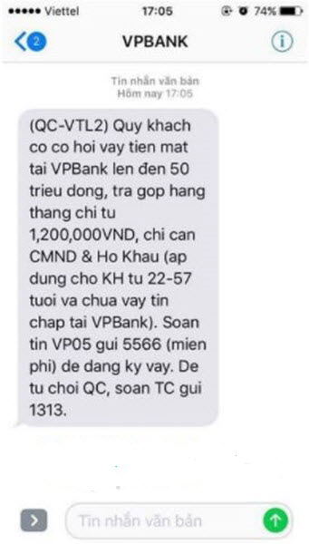 Hướng dẫn chi tiết cách check SIM vay tiền bằng tin nhắn