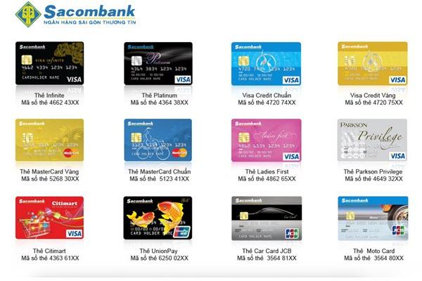 Điểm thưởng thẻ tín dụng Sacombank, THU HÚT, ưu đãi