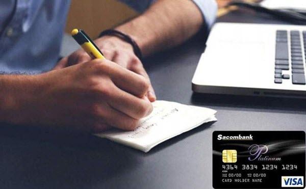Phí thường niên thẻ tín dụng Sacombank