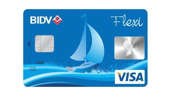 Biểu phí thẻ tín dụng BIDV Flexi – THÔNG TIN cần biết