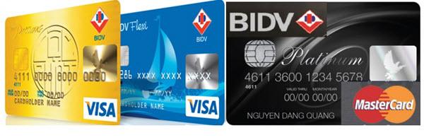 Điều kiện làm thẻ tín dụng BIDV