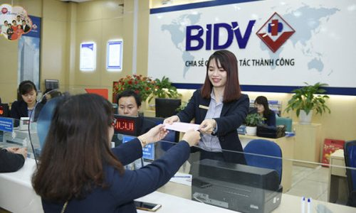Vay tiền BIDV; tối đa 500 triệu, 60 tháng, gói tín dụng 20.000 tỷ đồng