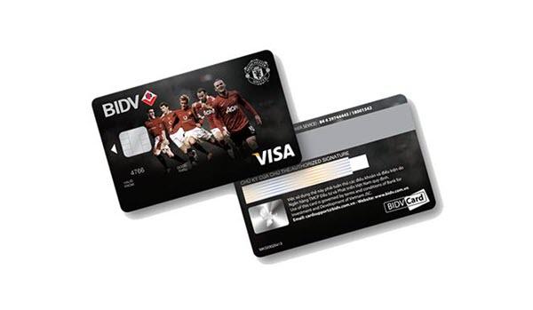 Thẻ tín dụng BIDV Manchester United dành cho FAN đam mê BÓNG ĐÁ