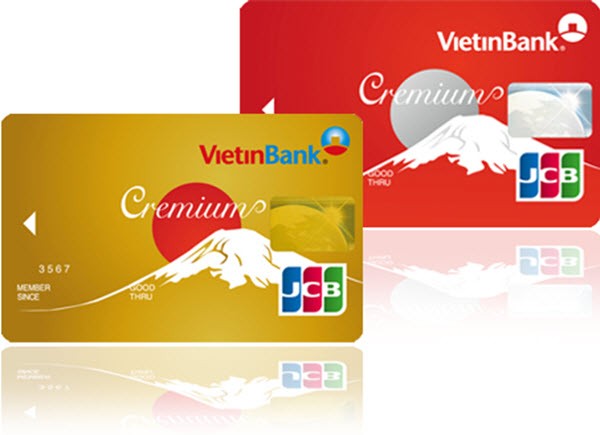 Thẻ tín dụng JCB của Vietinbank
