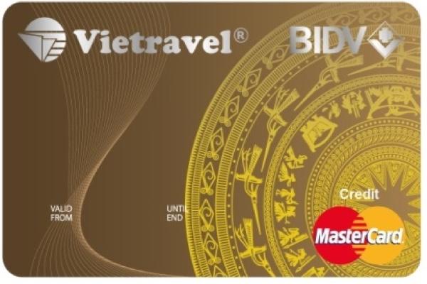 Mở thẻ BIDV Vietravel Standard; lãi suất 18%, hạn mức 100 triệu đồng