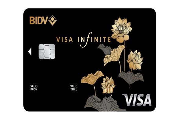 Hình ảnh mẫu thẻ BIDV Visa Infinite