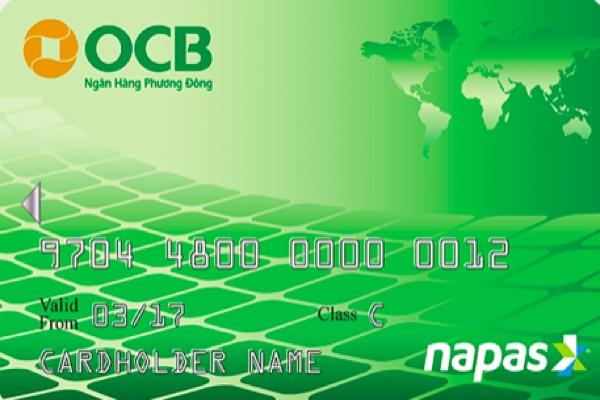Hình ảnh mẫu thẻ ghi nợ OCB Lucky