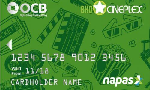 Đăng ký thẻ ghi nợ OCB BHD Star, giảm 20% phí bắp nước trọn đời tại BHD