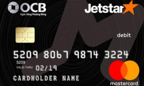 Thẻ ghi nợ OCB Jetstar; mua sắm thả ga, trả góp lãi suất 0%