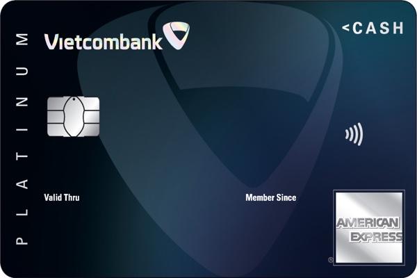 Mở thẻ tín dụng Vietcombank Cashplus Platinum American Express, trả góp lãi suất 0%
