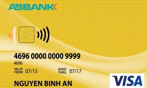 Thẻ ABBANK Visa Contactless Credit Gold; bảo mật vượt trội, hạn mức 70 triệu
