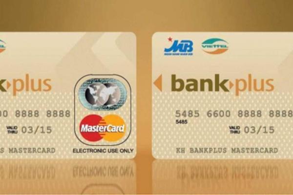 Hình ảnh mẫu thẻ BankPlus MasterCard