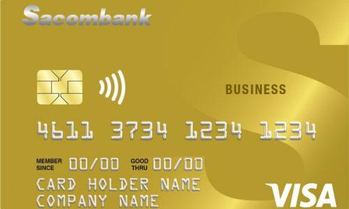 Mở thẻ doanh nghiệp Sacombank; tách bạch chi tiêu, bồi thường bảo hiểm 11,4 tỷ