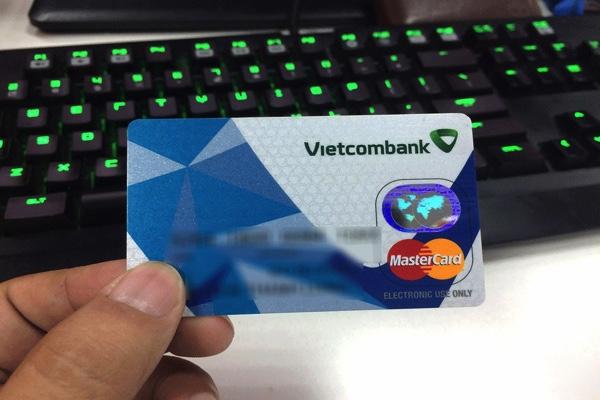 Hình ảnh mẫu thẻ Vietcombank Mastercard