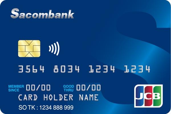 Đăng ký thẻ Sacombank JCB; miễn lãi 55 ngày, trả góp lãi suất 0%