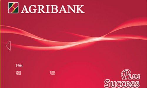 Thẻ Success Plus Agribank; hạn mức 100 triệu, phí thường niên chỉ 50.000 VNĐ