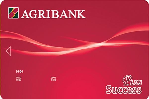 Hình ảnh mẫu thẻ Success Plus Agribank