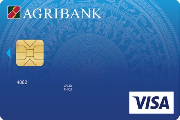 Làm thẻ Agribank Visa Standard; hạn mức 30 triệu, phí thường niên chỉ 150.000 VNĐ