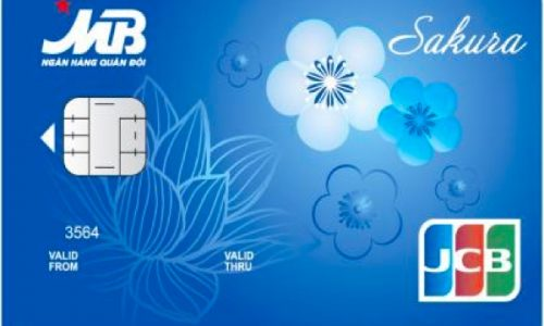 Thẻ tín dụng quốc tế MB JCB Sakura; bảo mật vượt trội, hạn mức không giới hạn