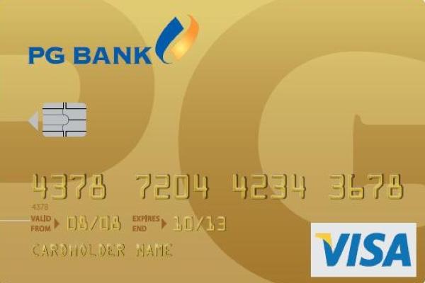 Làm thẻ tín dụng quốc tế Visa PG Bank, hạn mức 1 tỷ, miễn lãi 45 ngày