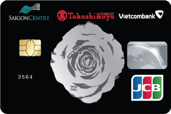Làm thẻ tín dụng Saigon Center Takashimaya Vietcombank JCB, nhận ưu đãi điểm thưởng hấp dẫn