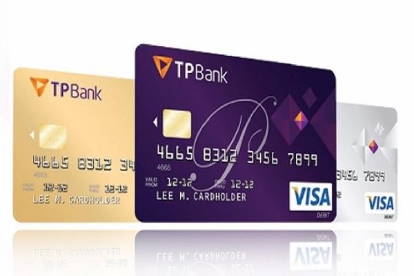 Mở thẻ tín dụng quốc tế TPBank Visa; ứng tiền 3,59%, miễn phí phát hành