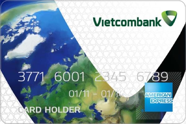 Hình ảnh mẫu thẻ Vietcombank Cashback Plus American Express