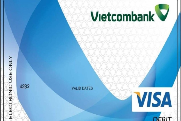 Hình ảnh mẫu thẻVietcombank Connect24 Visa