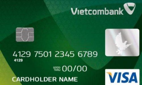 Thẻ Vietcombank Visa, hạn mức 300 triệu, miễn lãi 45 ngày