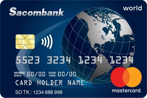 Hình ảnh mẫu thẻ World Mastercard